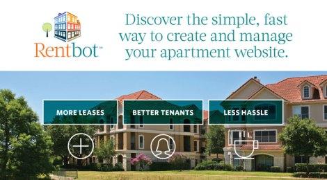 Portfolio: Rentbot Apartment Website Solution