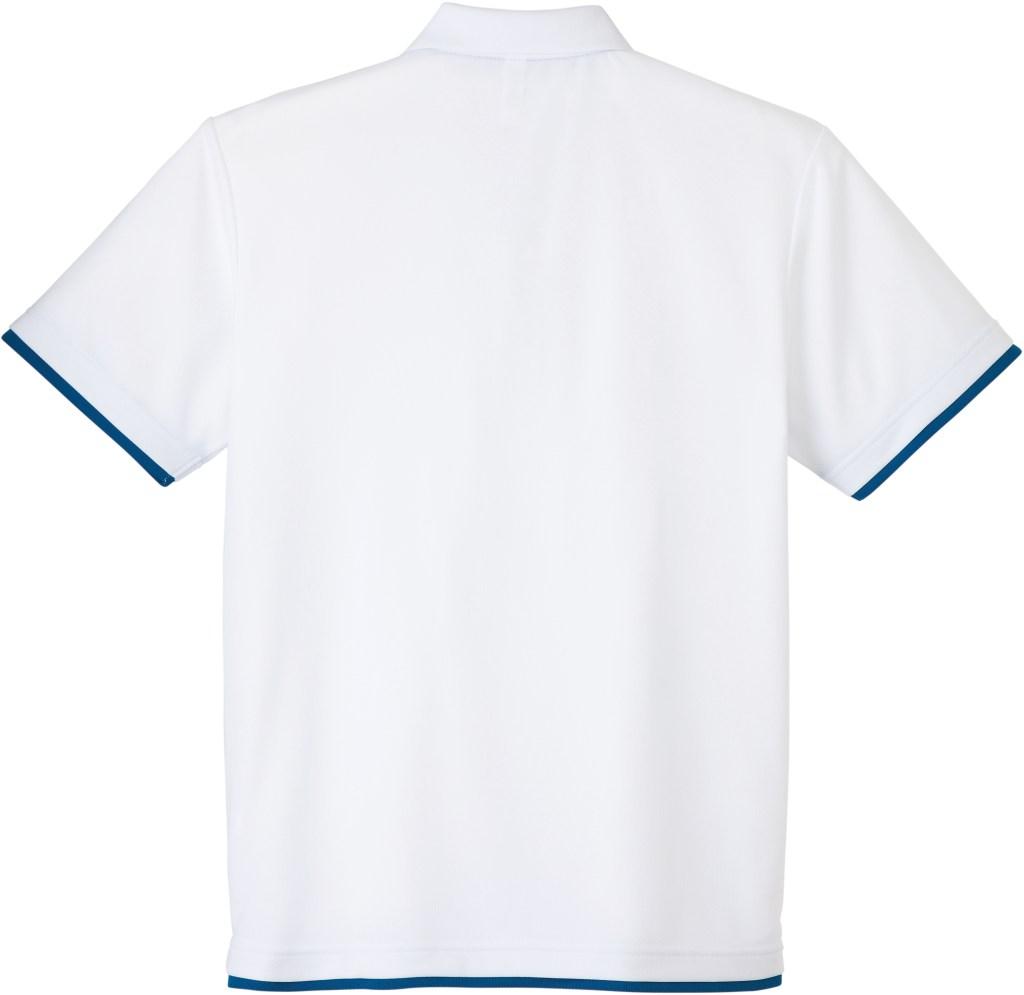 【BACK】color:ホワイト×ロイヤルブルー