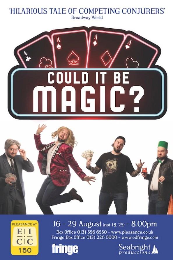 Could It Be Magic Edinburgh 2021 Poster