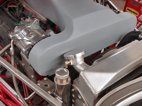Engine Cover Mounted