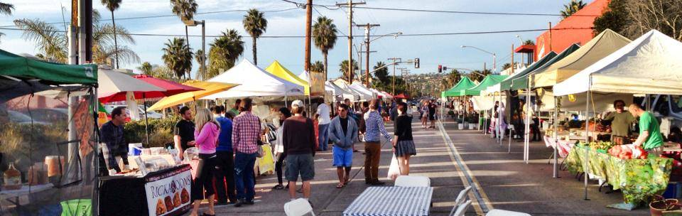 A Short Walk To The PB Farmers Market