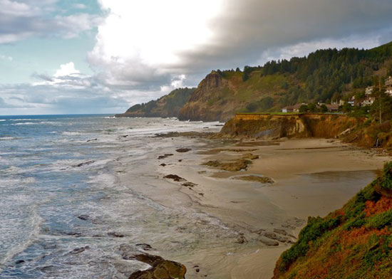 Sea Crest A Gated Oceanfront Community In Otter Rock Oregon