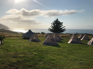 morning tents