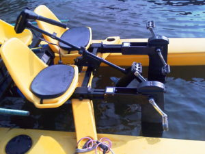 Electric pedal boat