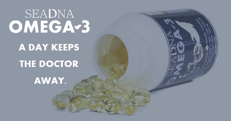 SeaDNA Omega-3 a day keeps the doctor away