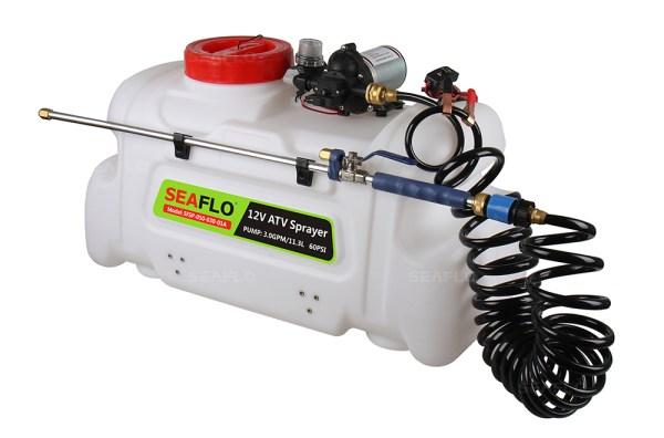 ATV Chemical Sprayers | SEAFLO 3.0 GPM 12 Volt 50Litres ...