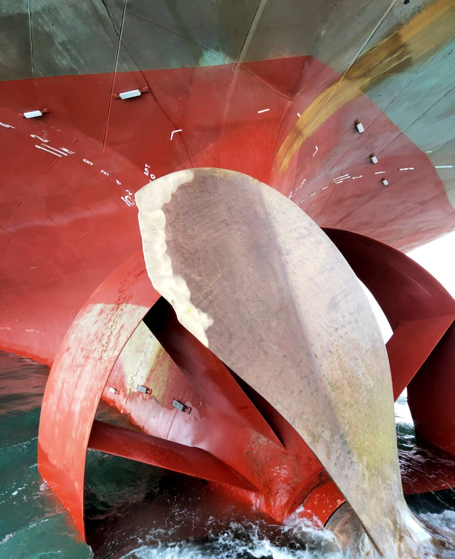 Propeller blade repair
