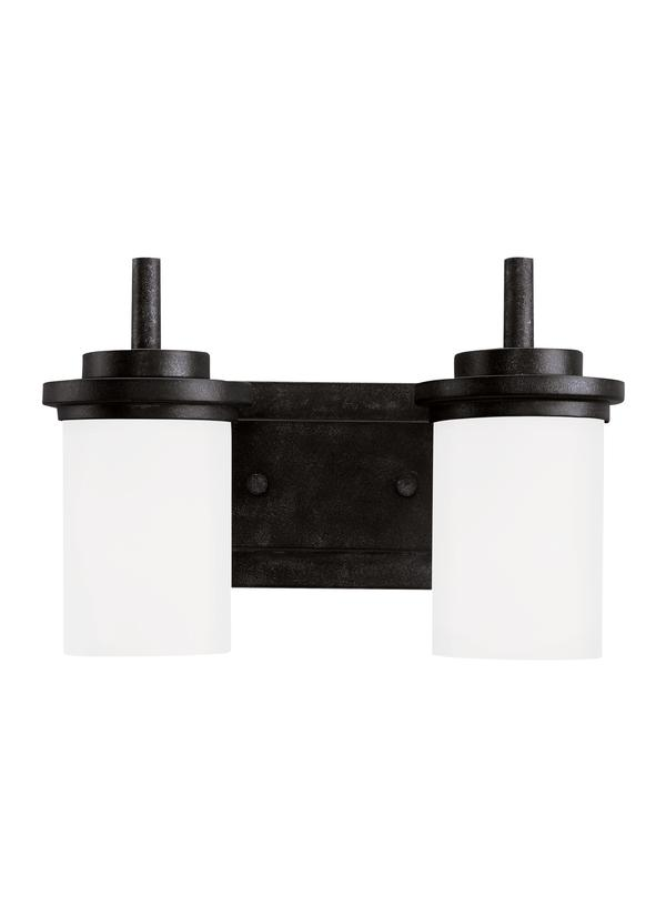 44661-839,Two Light Wall / Bath,Blacksmith
