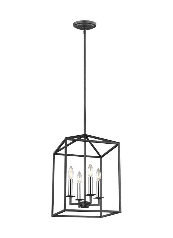 5115004-839,Medium Four Light Hall / Foyer,Blacksmith