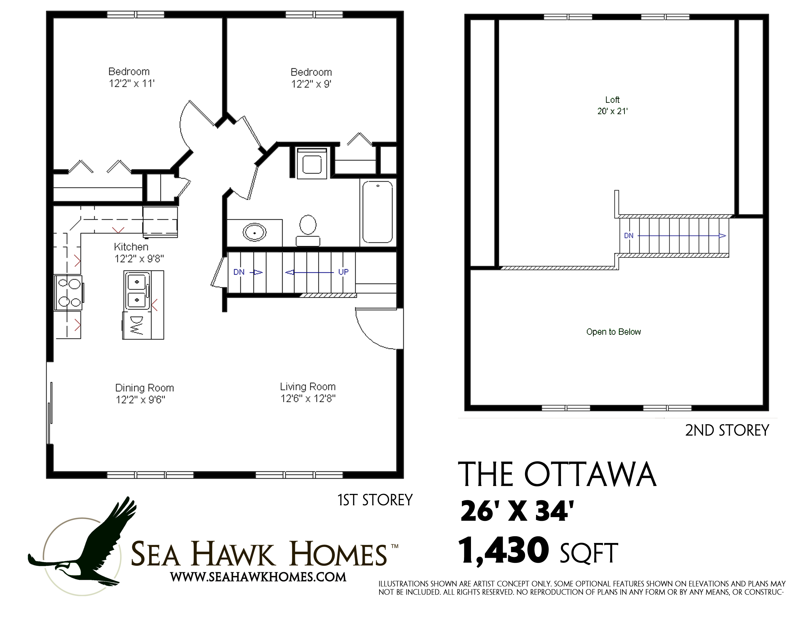 Ottawa Sea Hawk Homes