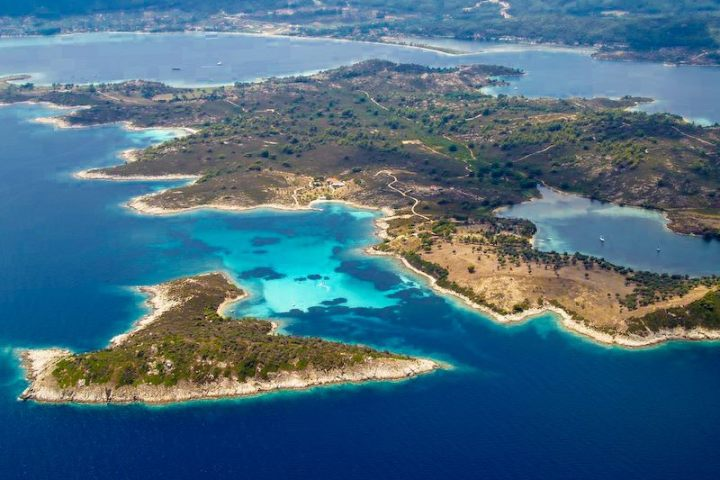 Aerial photo of Blue Waters area (Galazia Nera)