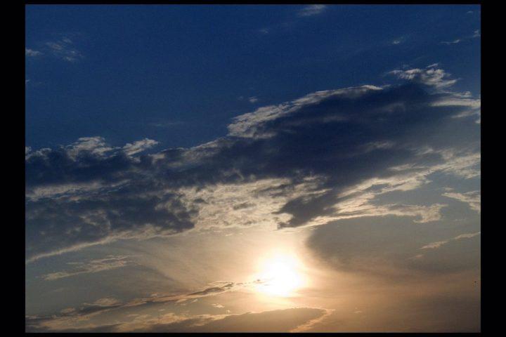 Amazing sky of Vourvourou