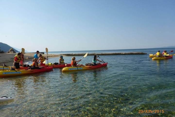 Sea Kayak Halkidiki Corporate and Group Events