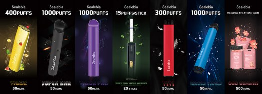 shenzhen ecig expo 2020 products on display