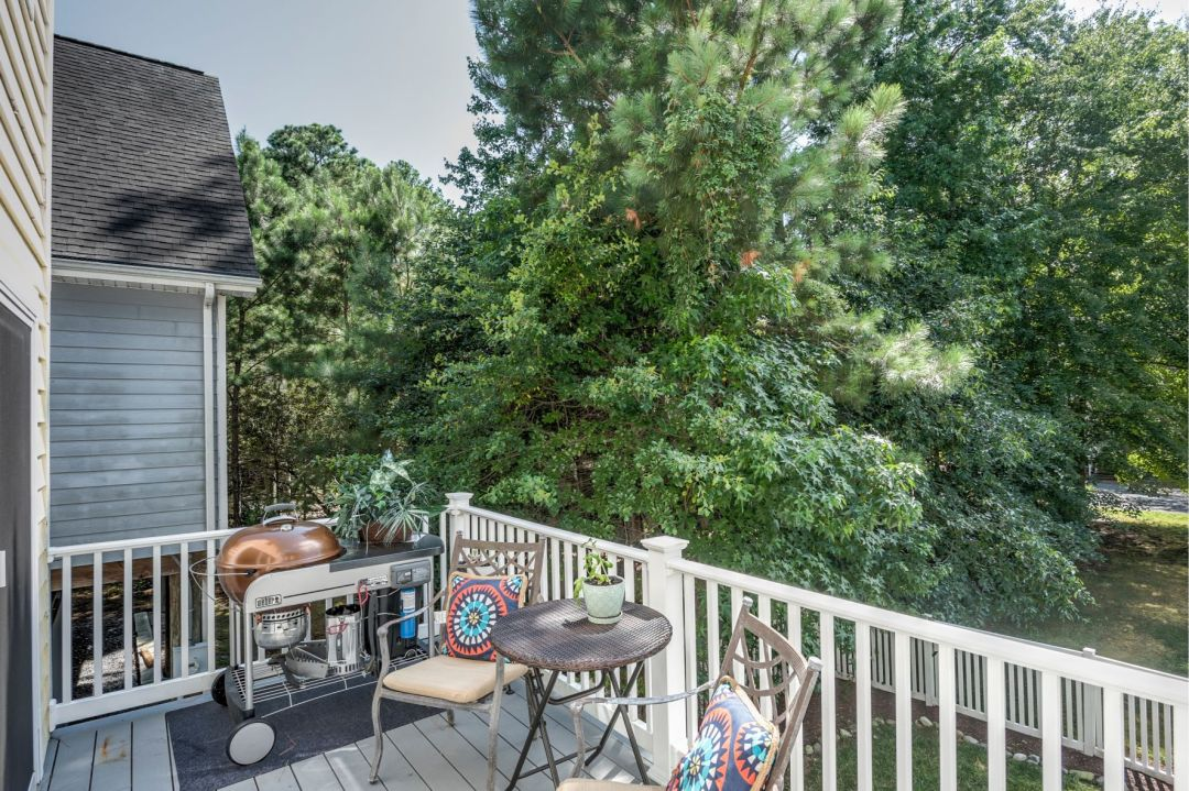 Deck Addition in Canal Drive, Millsboro DE with Barbecue Grill