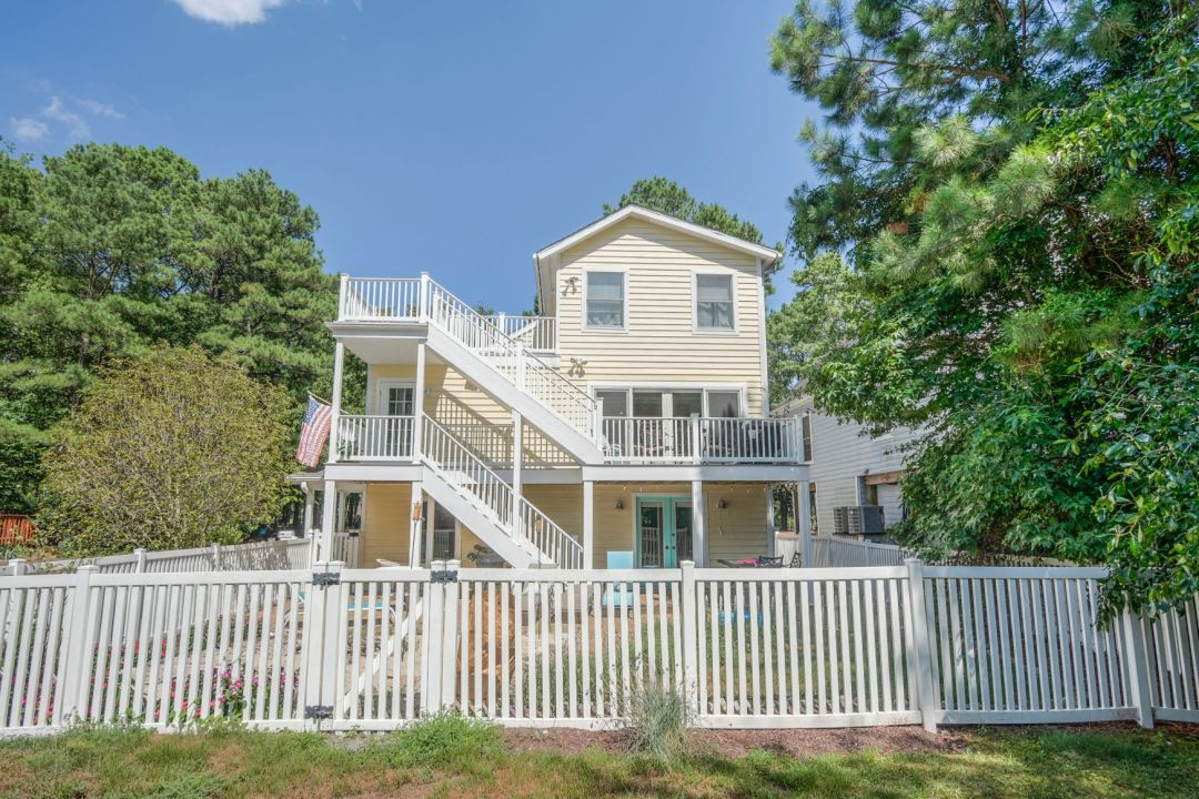 Deck Addition in Canal Drive, Millsboro DE - Front View