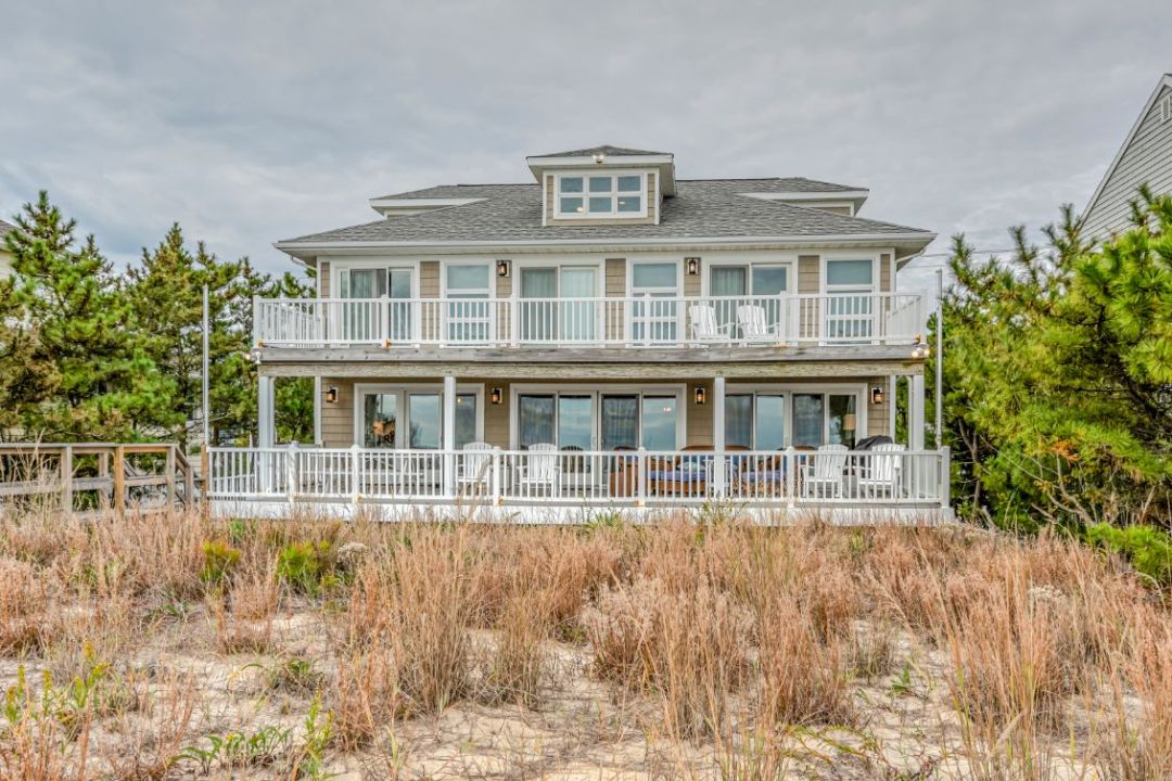 Exterior in Dune Road, Bethany Beach DE - View from the Beach