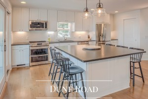 Dune Road Kitchen Renovation Gallery by Sea Light Design-Build