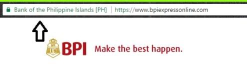 Internet Banking BPI Website