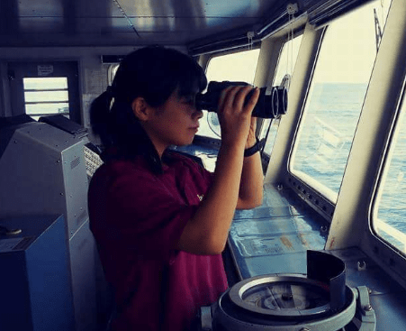 The Life Story of a Japanese Seawoman and How She Built Her Career in the Seafaring Industry
