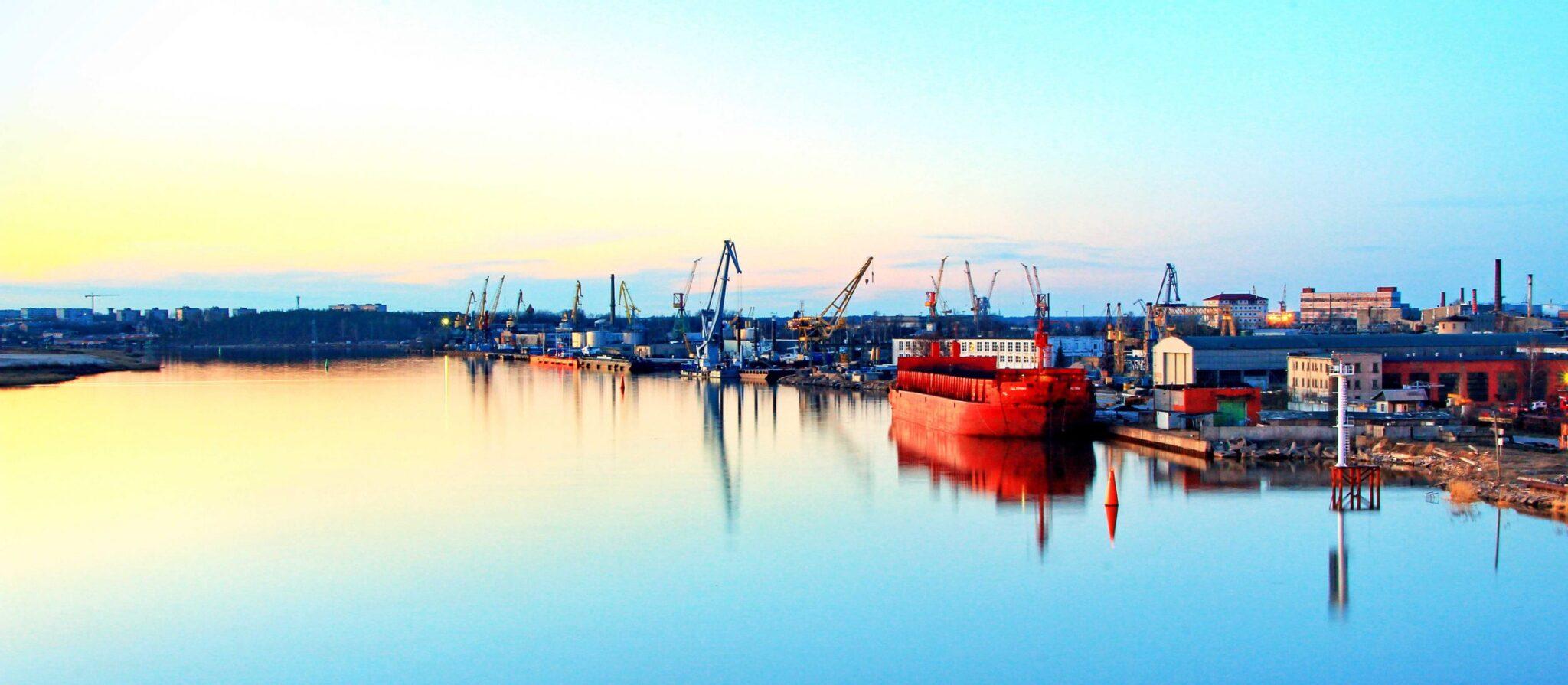 Seaman Memories. Calmest Port. Mirror-like.