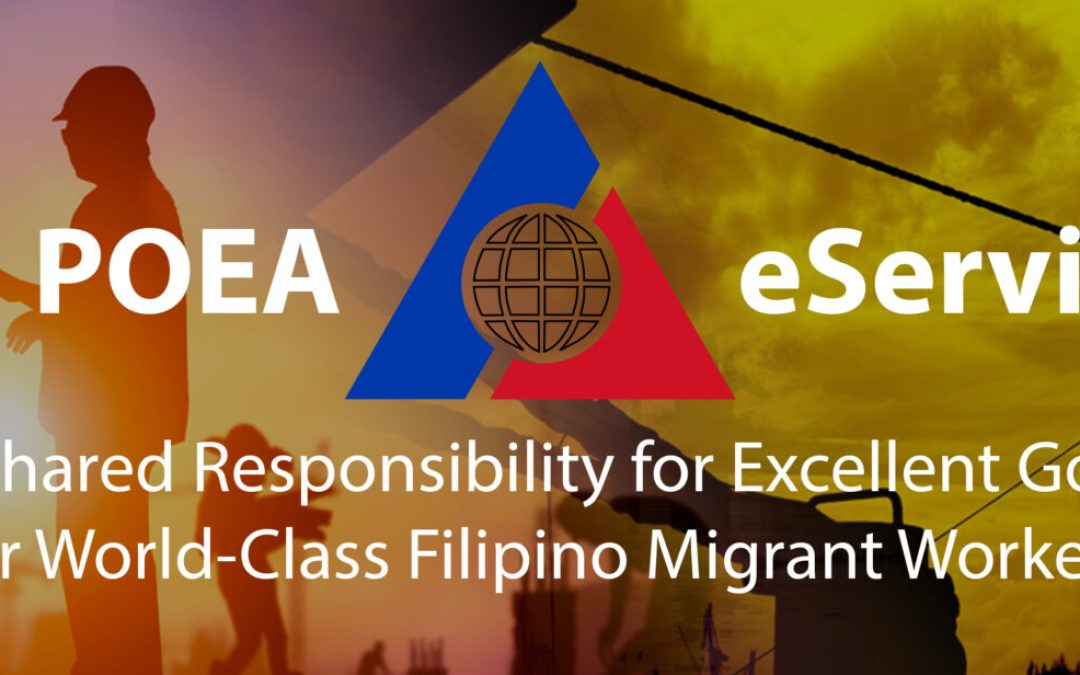 How to Create and Update Your POEA e-Registration Profile Online 2019