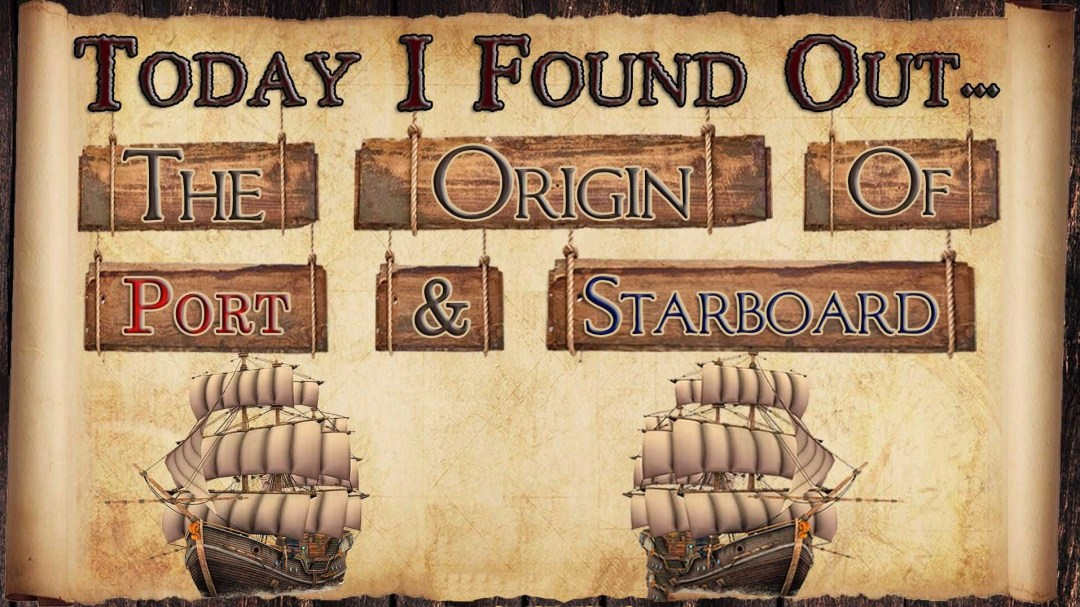 Origin of port and starboard