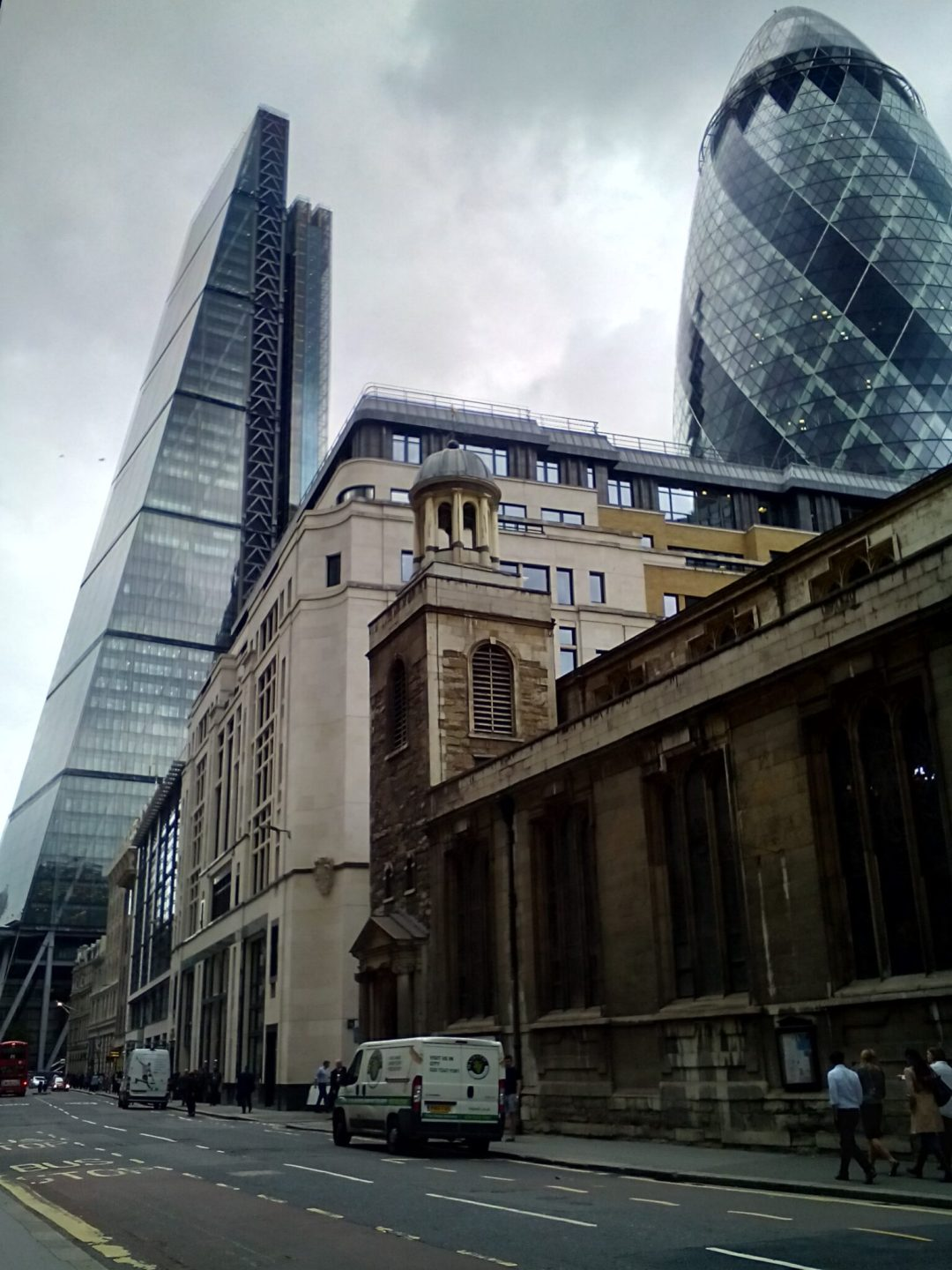 Leadanhall and The Gherkin