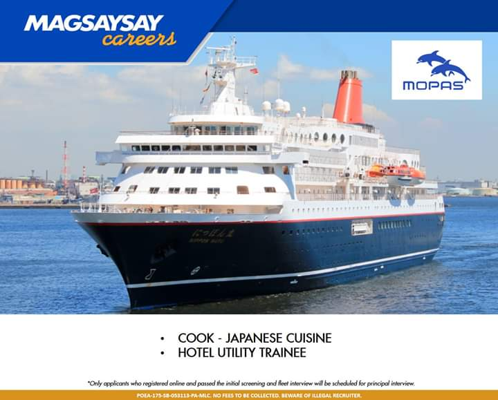 Magsaysay careers for cruise ship jobs
