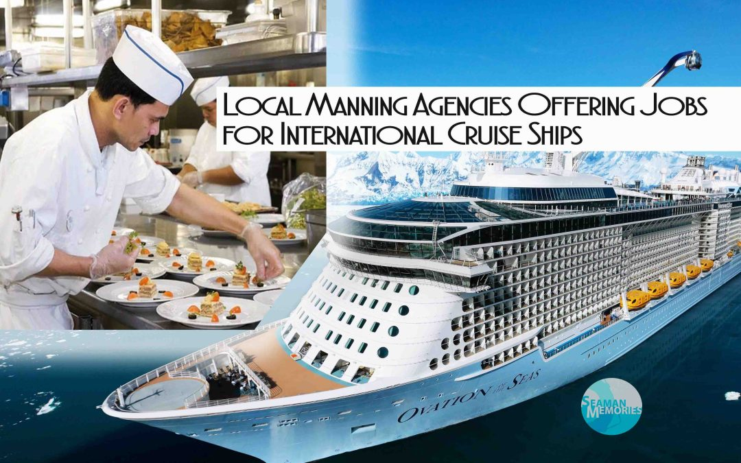 List of Cruise Ships Manning Agencies in the Philippines
