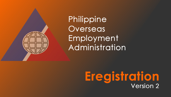 The New POEA Eregistration Version 2 – Update for OFWs and Seafarers
