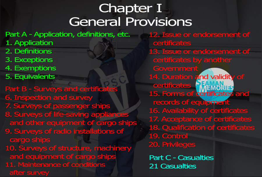SOLAS Chapter I- General Provisions