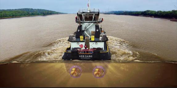 Azimuth Stern Drive Tugboat (Z-Drives)