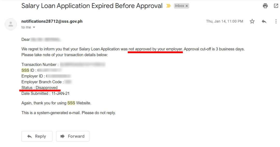 Loan Application Expired Before Approval