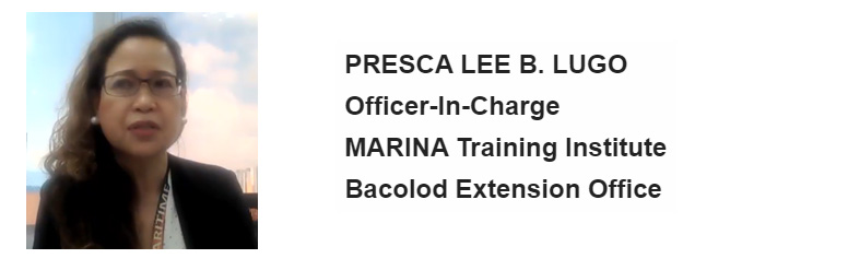 MaRTI Officer-in-Charge Ms. Presca Lee B. Lugo