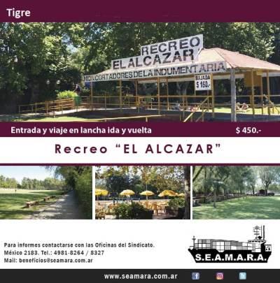 """Tigre. Recreo """"El Alcazar"""""""