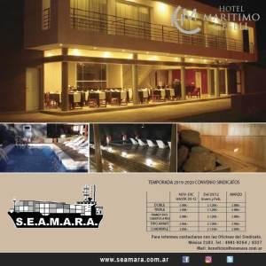 Villa Gesell. Hotel Marítimo
