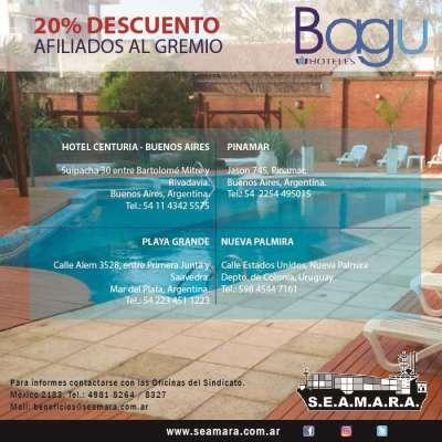 Beneficios Hoteles Bagu