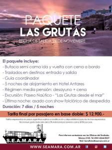 Paquete Las Grutas - Hotel Antares