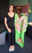 Stunning quilt and designer