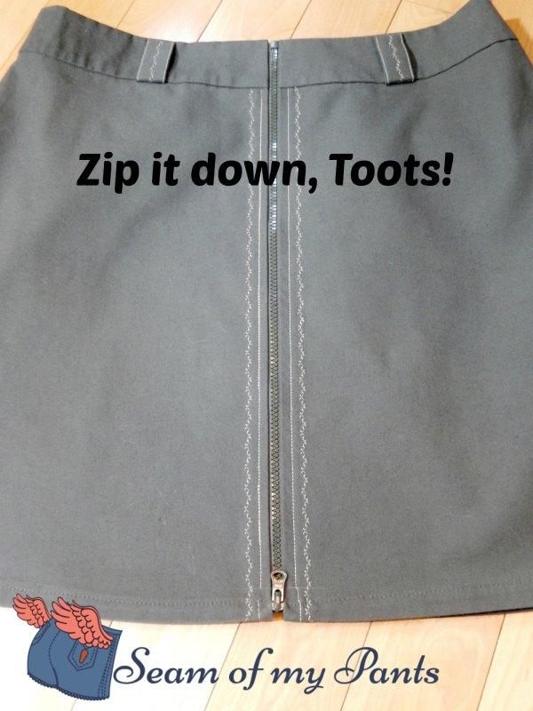 zip-down