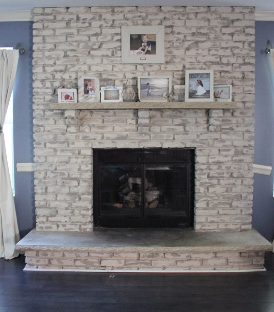 paint your fireplace in 2 days or less with miss mustard seed