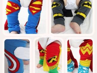 How to make superhero leg warmers