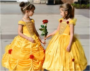 Belle Halloween Costume Sewing Pattern