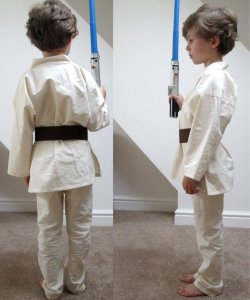 Jedi Halloween Costume Sewing Pattern