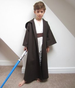 Luke Skywalker Halloween Costume Sewing Pattern
