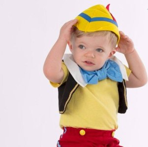 Pinocchio Halloween Costume Sewing Pattern