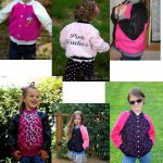 Spirit Jacket Halloween Sewing Pattern by Coles Creations Girls Version