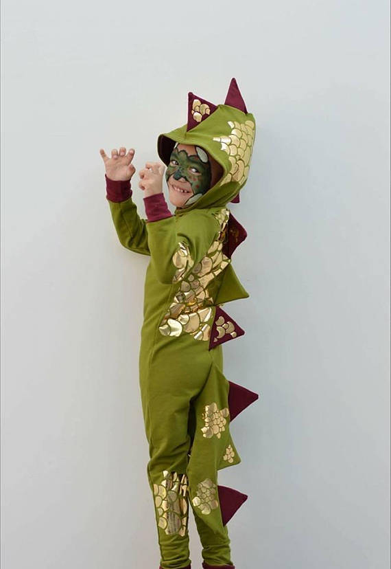 dragon halloween costume sewing pattern