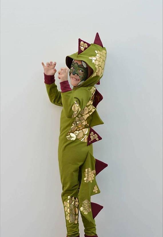 dragon halloween costume sewing pattern